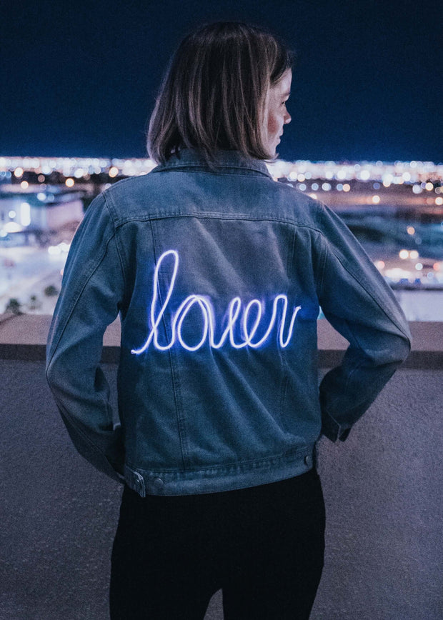 Lover Not a Fighter Denim