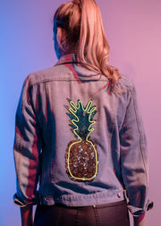 Neon Pineapple jacket