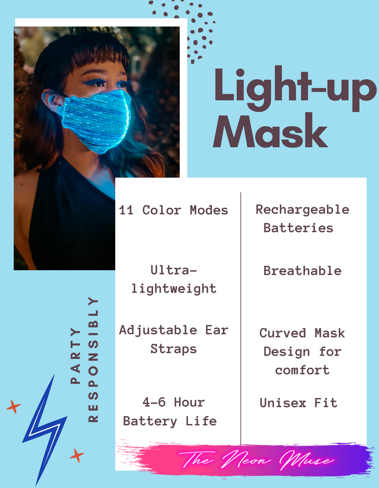 The Neon Mask