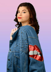 Magnetic Lips Jacket - Limited Edition (Plus Size)