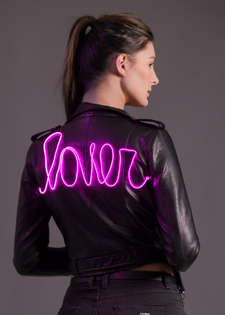 Lightup neon lover jacket