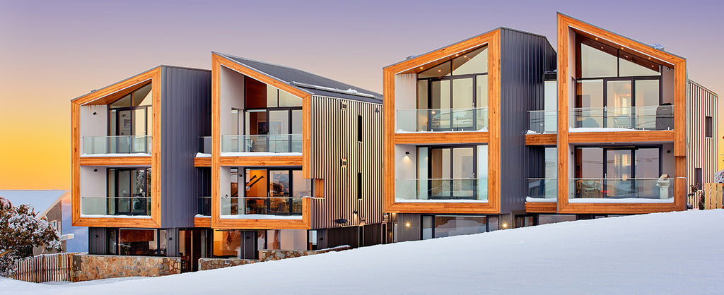 Step Inside These Wintry Chalets