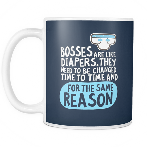 The Bosses Mug - Insane Mugs