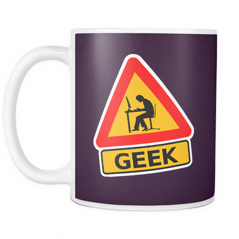 The 'Geek Zone' Mug - Insane Mugs