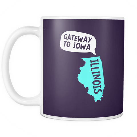The Illinois Mug - Insane Mugs