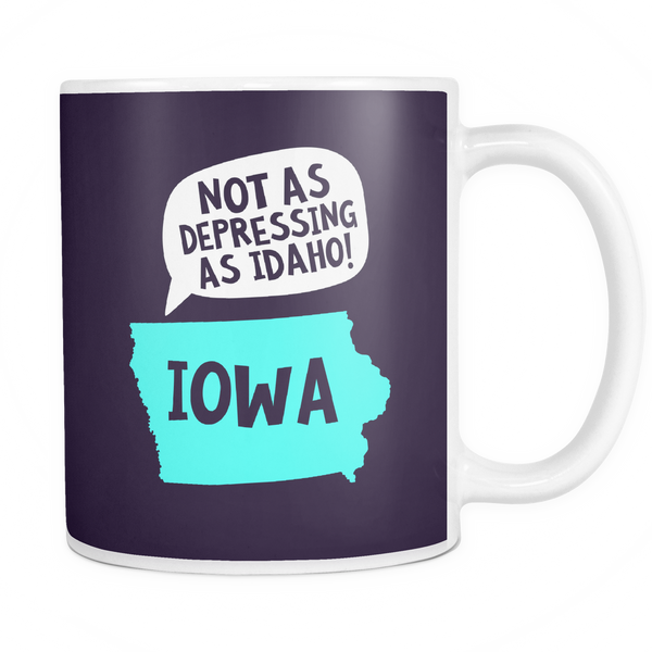 The Iowa Mug - Insane Mugs