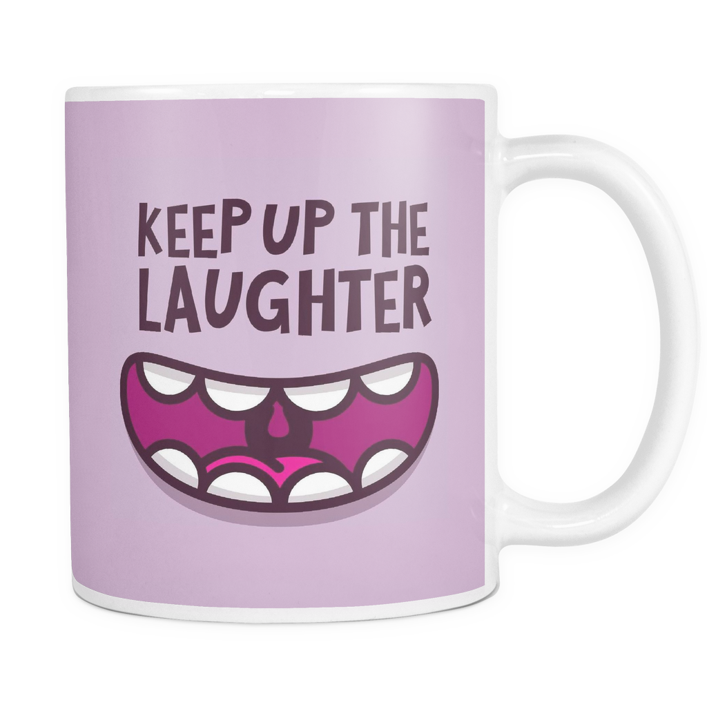 The Laughter Mug - Insane Mugs