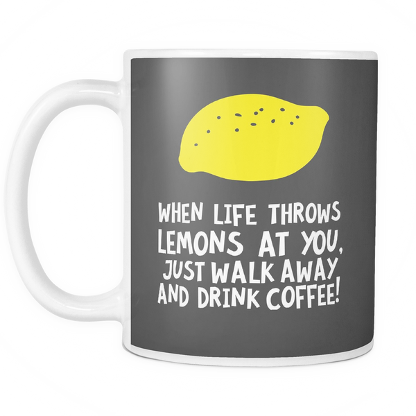 The Lemon Lesson Mug - Insane Mugs