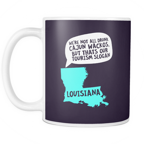 The Louisiana Mug - Insane Mugs