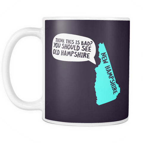The New Hampshire Mug-Coffee Mug-Funny-Sarcastic-Tea-Cup-Ceramic-InsaneMugs.com
