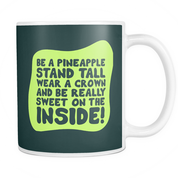The Pineapple Mug - Insane Mugs