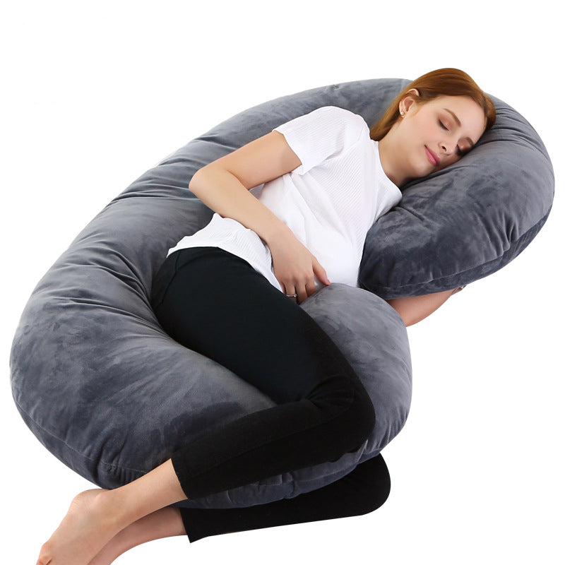 C Shaped Body Pillow for Pregnant Women