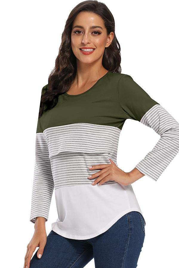 Double Layered Maternity Nursing Top