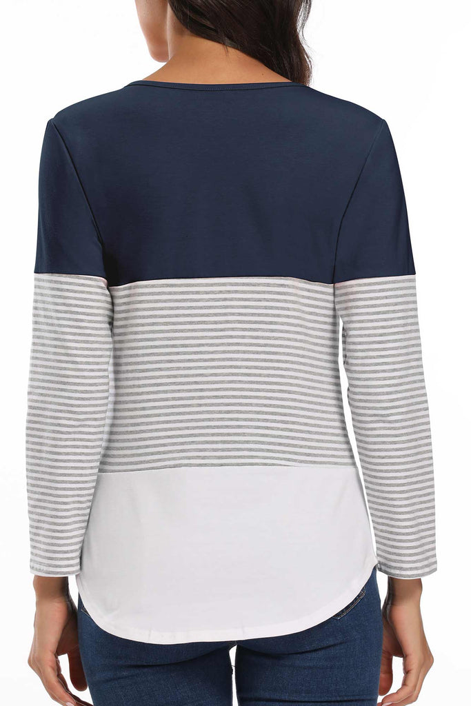 Double Layered Maternity Nursing Top Tops