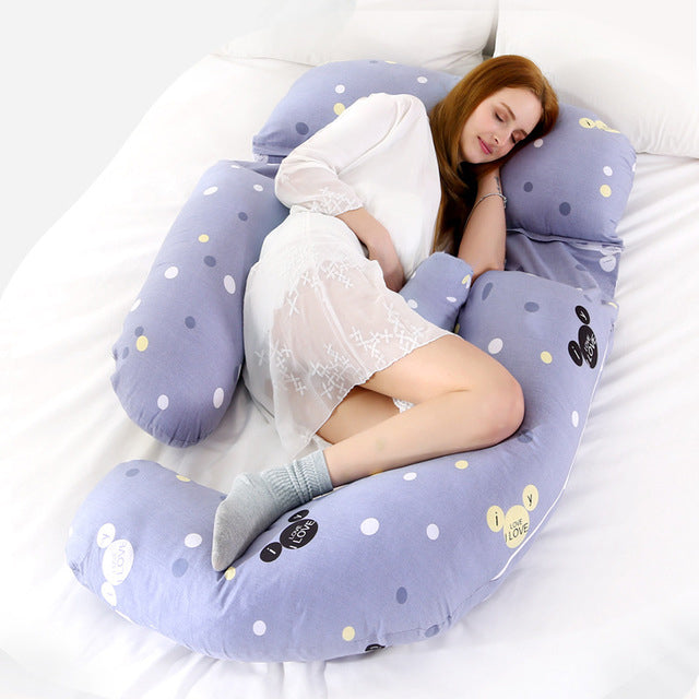 Full Body Pregnancy Pillow G-Shaped Maternity Pillow