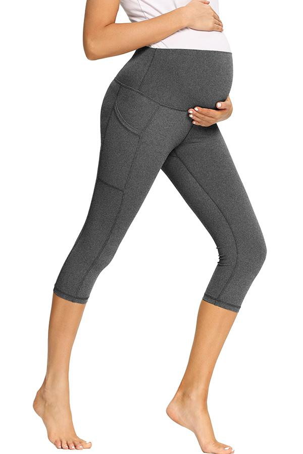 Prenatal Yoga Activewear Maternity Leggings With Pockets