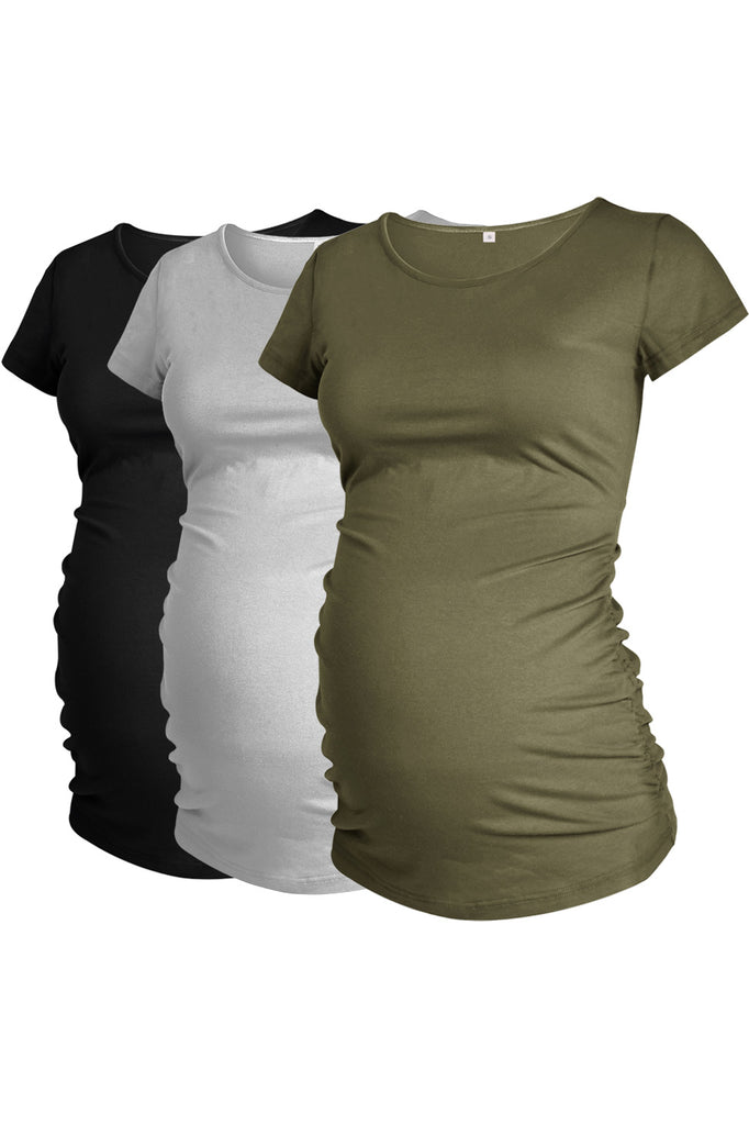 Scoop 3-Pack T-Shirt Trendy Maternity Tops