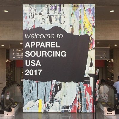 The zodiakos is participating in apparel sourcing conference in NYC.