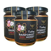 3 Jars of Wild Tualang Rainforest Honey (10oz/280g)