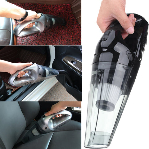 Portable Car Home Vacuum Get inside tight spots to clean your car and home.