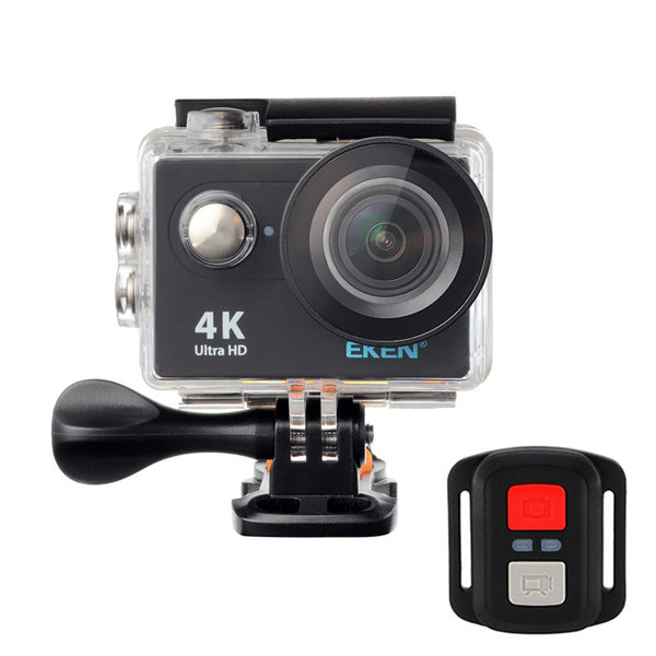 EKEN™ H9R Sport Action Waterproof Camera 4K Ultra HD 2.4G Remote WiFi - Without live Streaming Function (Black)
