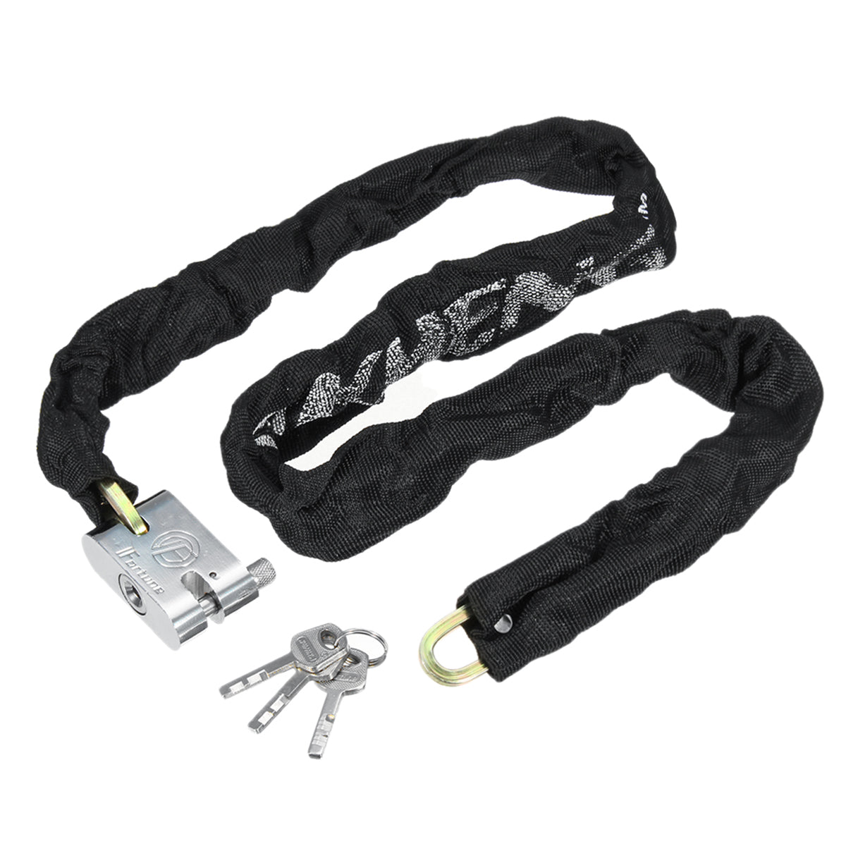 1.2M Heavy Duty Lock Chain Padlock Set Bicycle Scooter Motorcycle