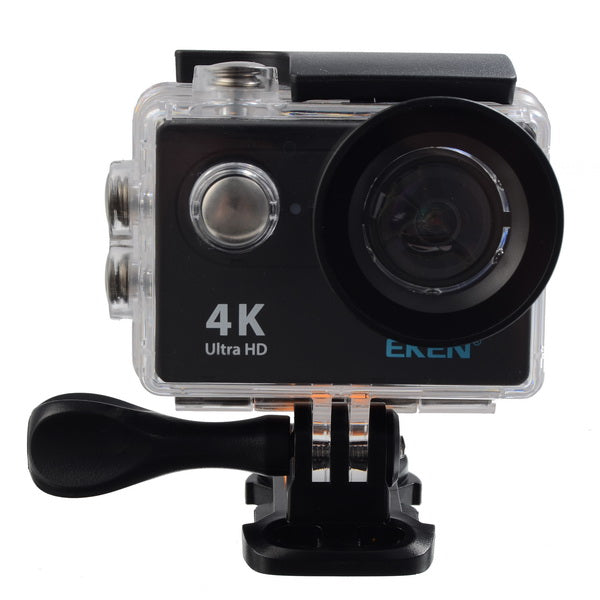 EKEN H9R Sport Action Waterproof Camera 4K Ultra HD 2.4G Remote WiFi - Without live Streaming Function camera only back