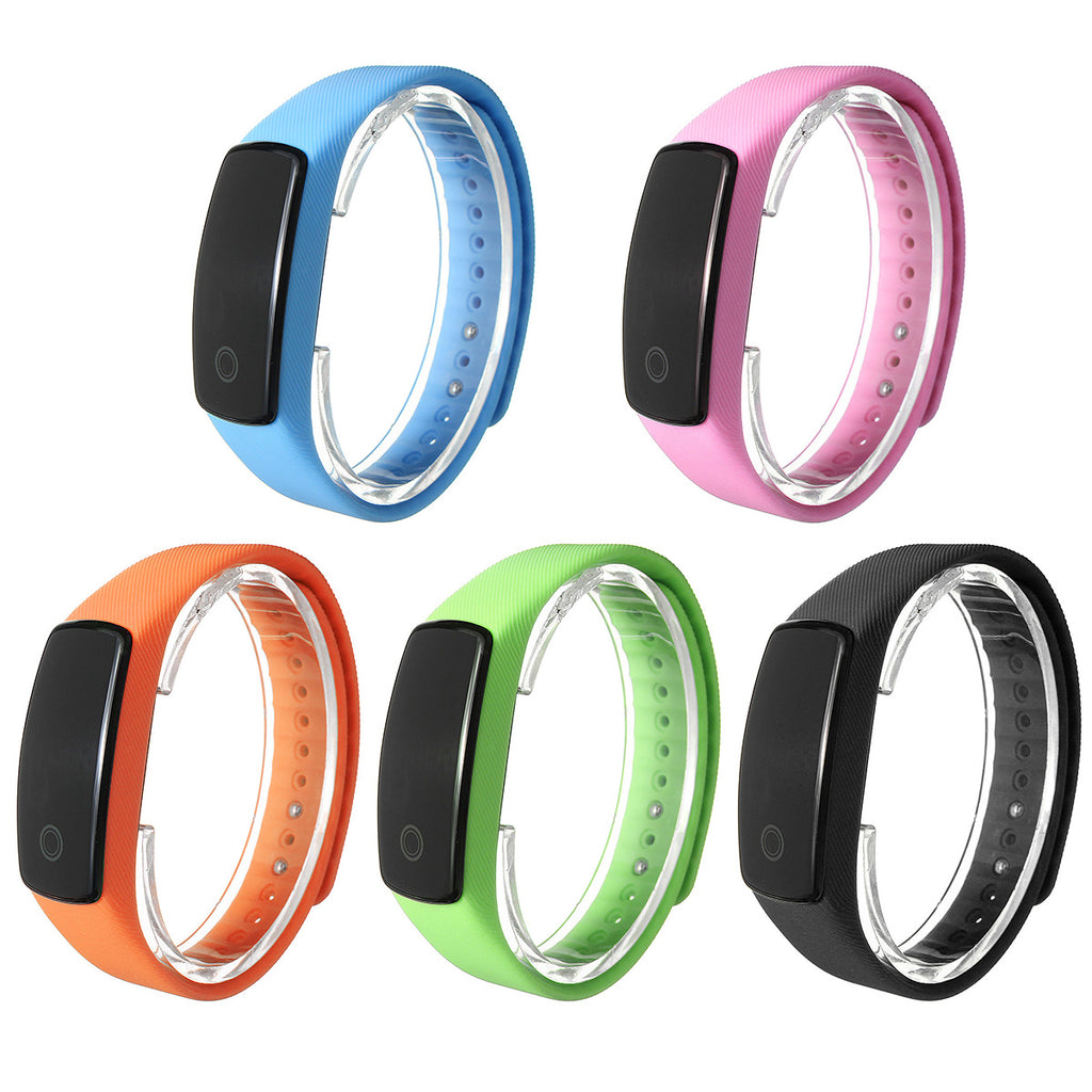 Smart Watch with Heart Monitor For iPhone And Android showing different color selections