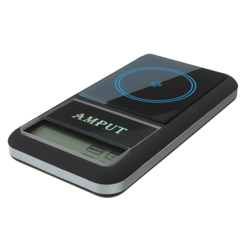 AMPUT 0.01g x 200g Digital Pocket Scale With Auto-Off Overload Protection Function front view