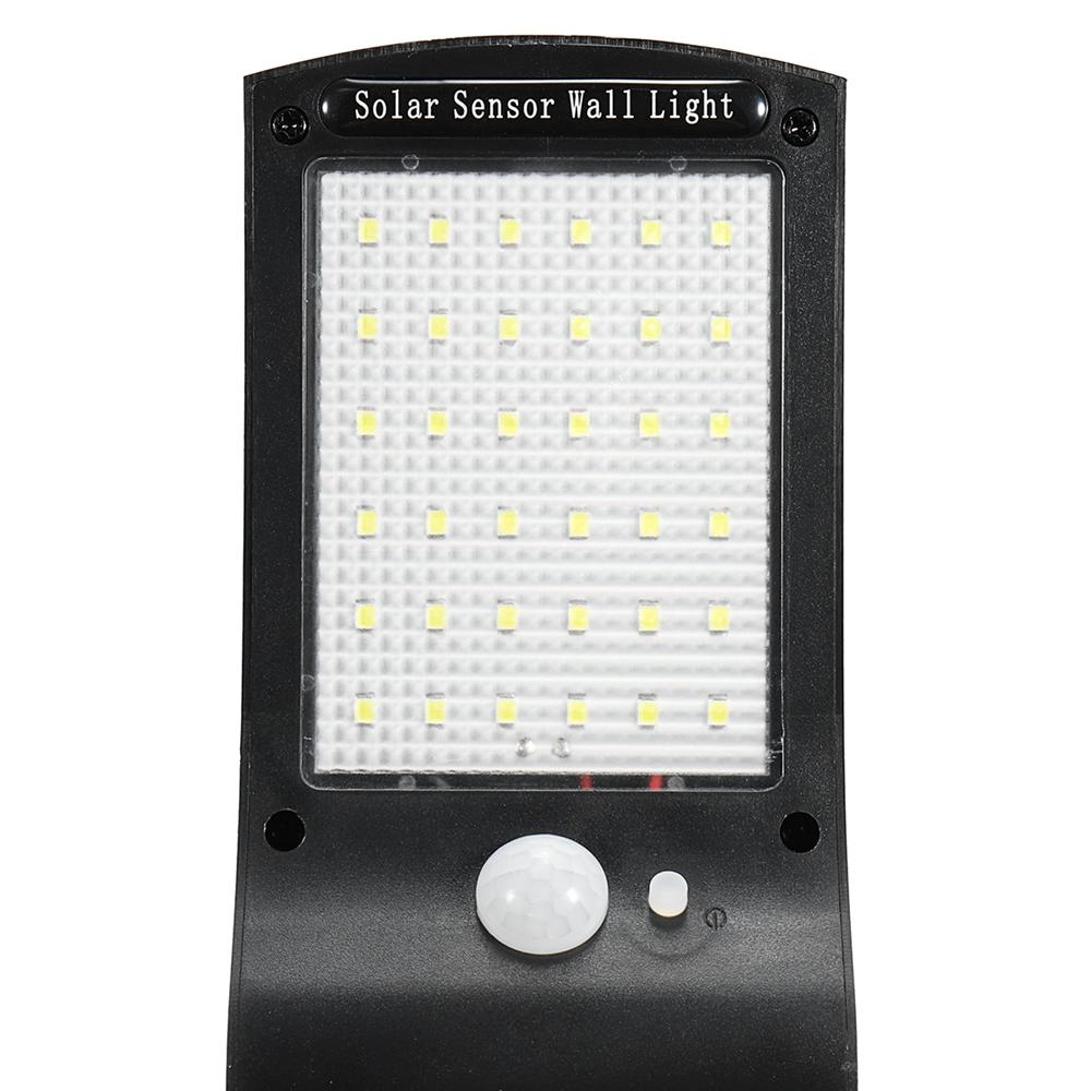 Solar security light wall sensor