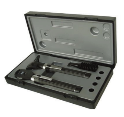 Ottoscope and Opthalmoscope set  HI CARE  PROFESSIONAL  Fibre Optic