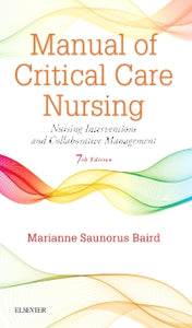 Manual of Critical Care Nursing 7th Edtition