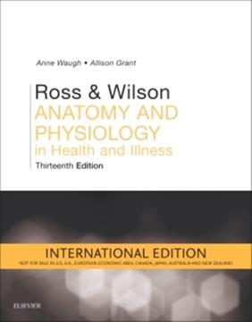 Ross & Wilson Anatomy and Physiology in Health and Illness International Edition 13th Edition
