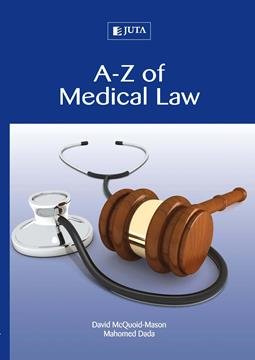 A-Z of Medical Law 1st Edition