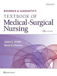 Brunner & Suddarth's Textbook of Medical-Surgical Nursing International Edition, 14th Edition