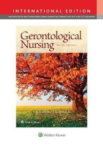 GerontologicalNursing, 9th Edition
