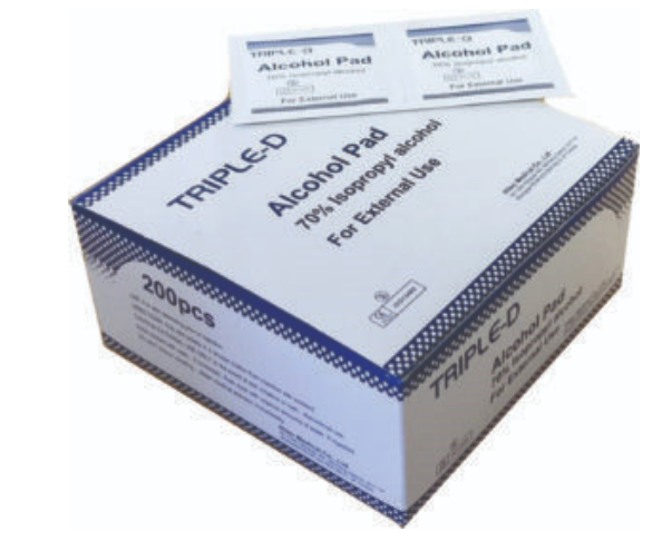 Triple D - Alcohol Swabs