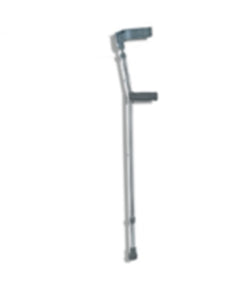 Crutch - Elbow - Aluminium - Double Adjustable