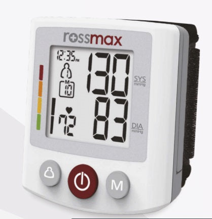 BP Meter Rossmax BQ705 - XL Digits, 2 Users, 120 memories, IHR monitoe