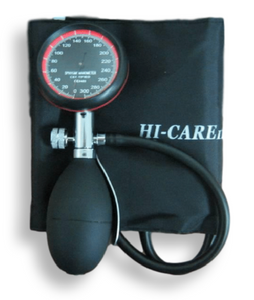 BP Meter Aneroid Palm Elite - Black