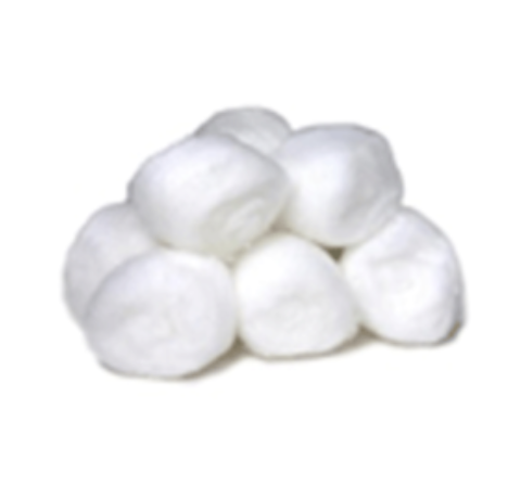 Triple D cotton wool balls - 1G