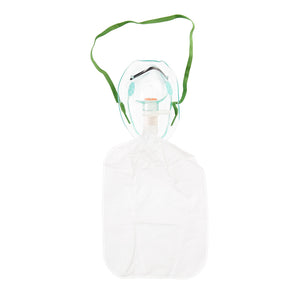 Mask High Concentration + non rebreathing bag
