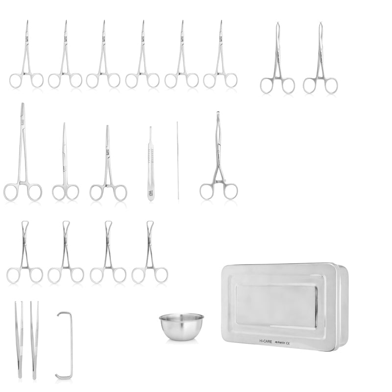 Surgical Set - Basic (24pc) with tray