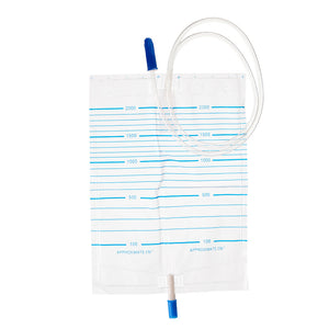 Urine Bag 2000ml & Anti Return Valve