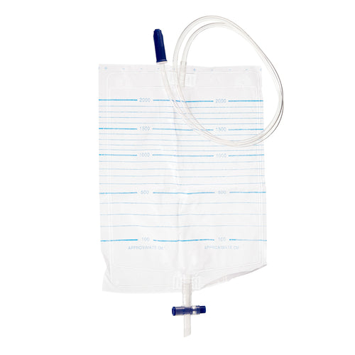 Urine Bag 2000ml & Push Valve