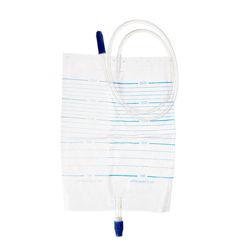 Urine Bag 2000ml & Screw Valve