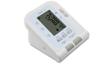BP Meter 08C - LED 3 Adult users 99 memories, fully automatic