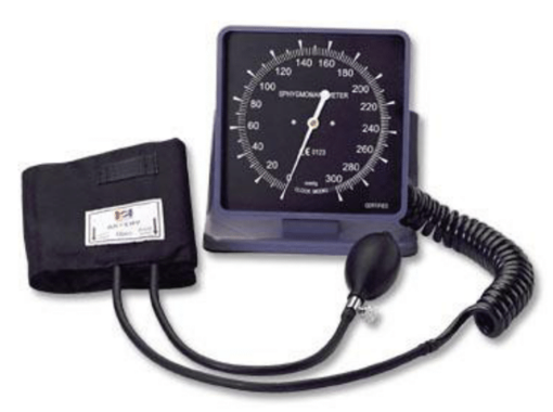 BP Meter Aneroid Wall / Desk - Combo