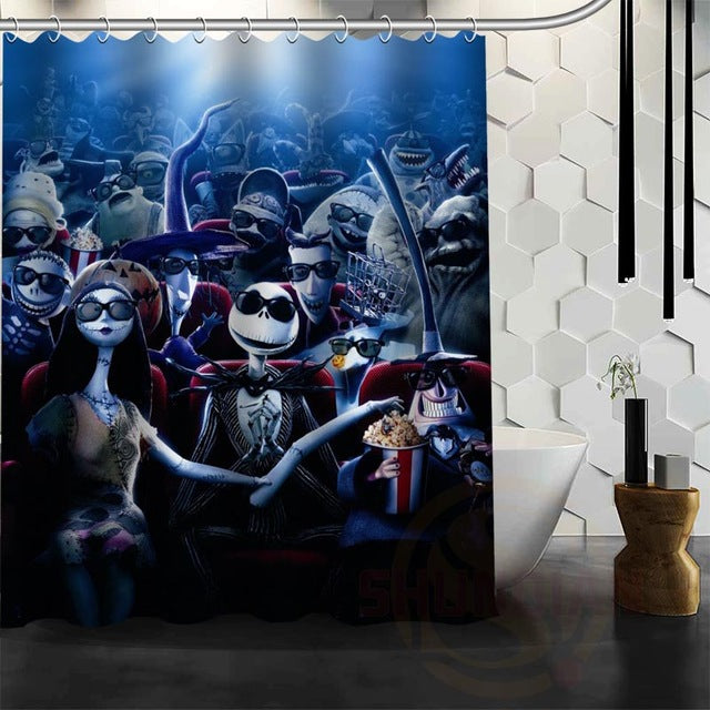 the nightmare before christmas shower curtains