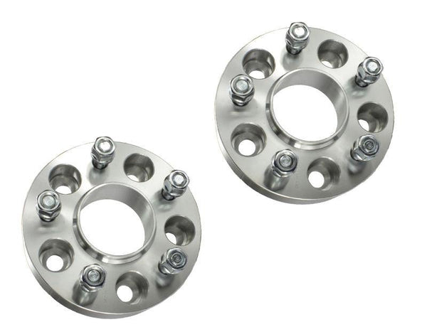 25mm Sliver Hub Centric Wheel Spacer Adapters | 14-15 Camaro